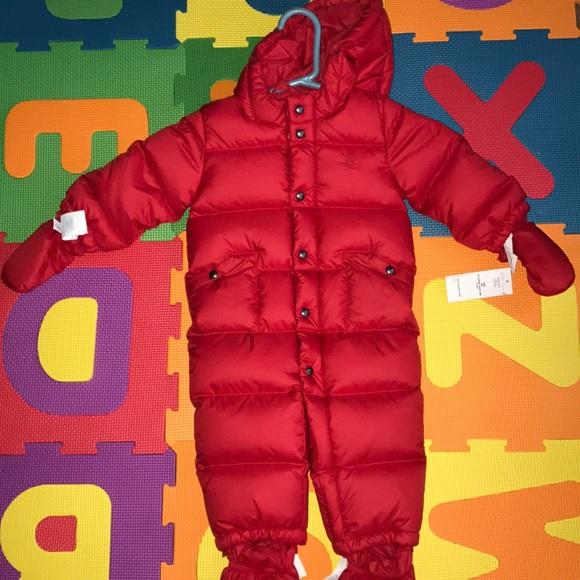 398570fae Lauren Ralph Lauren Jackets & Coats | Red Baby Boy Ralph Lauren ...